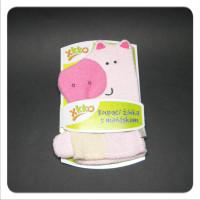 XKKO Waschlappemit Handpuppe (BA) - Pig