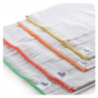 XKKO Classic Faltwindeln (4/8/4) - Infant White 6x6er Pack (GH Packung)