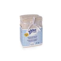 XKKO Organic Faltwindeln (4/8/4) - Newborn Natural 24x6er Pack (GH Packung)