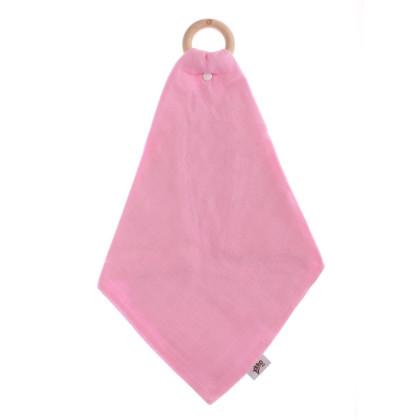 XKKO BMB Beissring mit Windel - Baby Pink 1St.