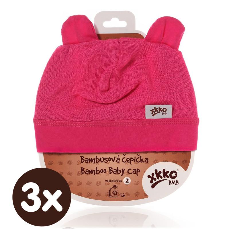 XKKO BMB Kindermütze - Magenta 3x1St. (GH Packung)