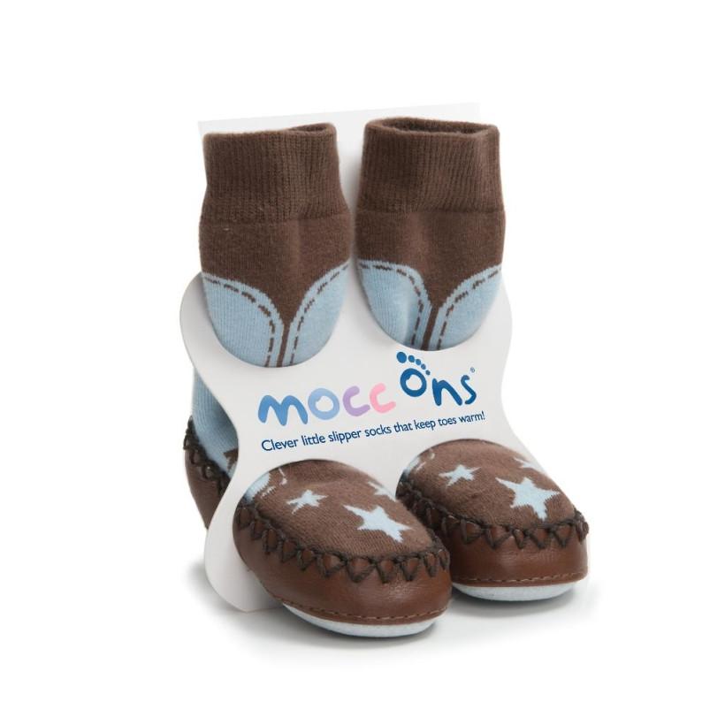 Mocc Ons Hüttenschuhe - Cow Boy