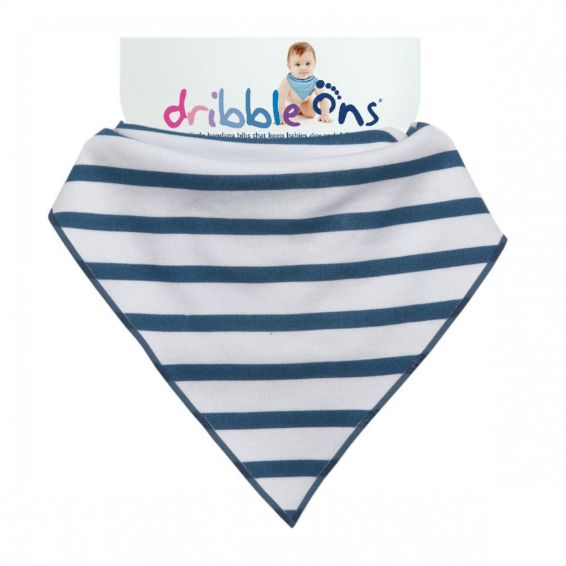Dribble Ons Designer - Nautical Stripes 3x1St. (GH Packung)