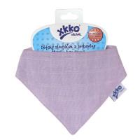 Kinderschal XKKO Organic Old Times - Ultra Violet 1St.