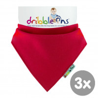 Dribble Ons Bright - Red 3x1St. (GH Packung)