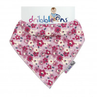 Dribble Ons Designer - Floral Ditsy 3x1St. (GH Packung)