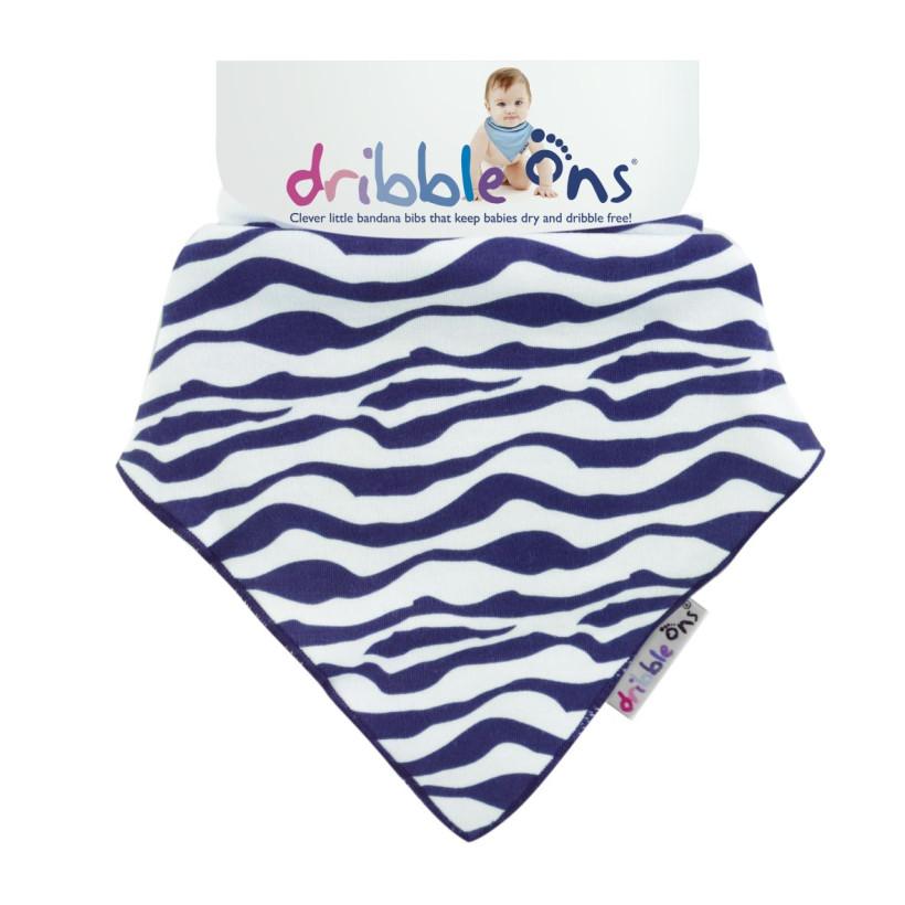 Dribble Ons Designer - Zebra 3x1St. (GH Packung)