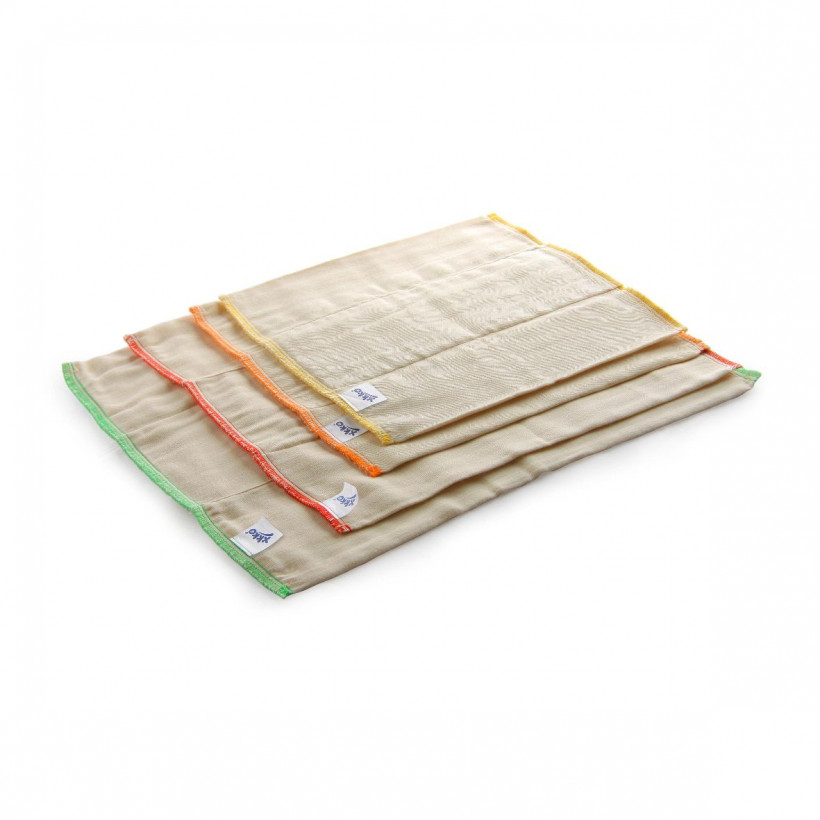 XKKO Classic Faltwindeln (4/8/4) - Regular Natural 6x6er Pack (GH Packung)