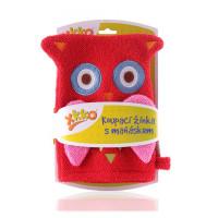 XKKO Waschlappemit Handpuppe (BA) - Owl