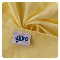 BIO-Baumwolle Windeln XKKO Organic 70x70 Old Times - Pastels For Boys 5er Pack