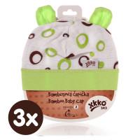 XKKO BMB Kindermütze - Lime Bubbles 3x1St. (GH Packung)