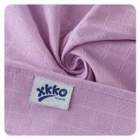 BIO-Baumwolle Windeln XKKO Organic 70x70 Old Times - Pastels For Girls 5er Pack