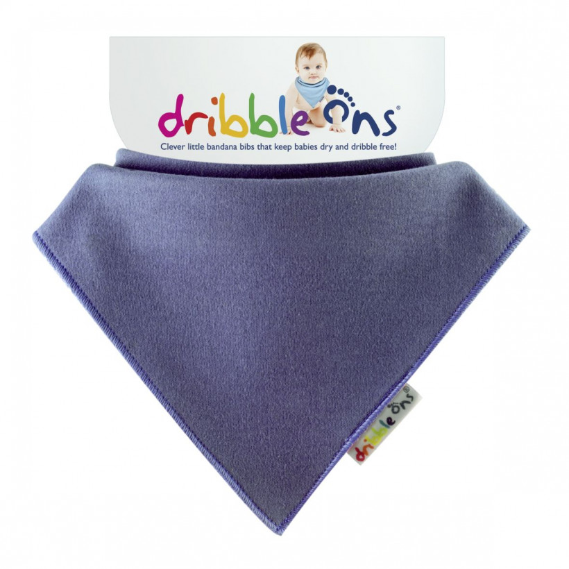 Dribble Ons Bright - Blueberry