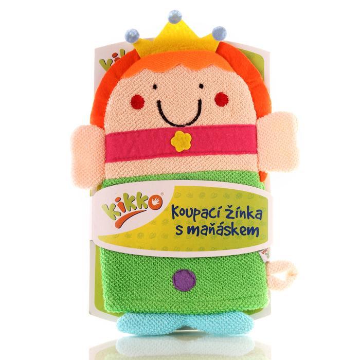 XKKO Waschlappemit Handpuppe (BA) - Princess 12x1St. (GH Packung)
