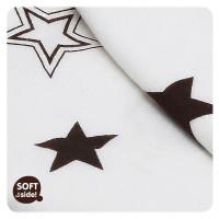 XKKO BMB Bambusdecke 130x70 - Natural Brown Stars 1St.