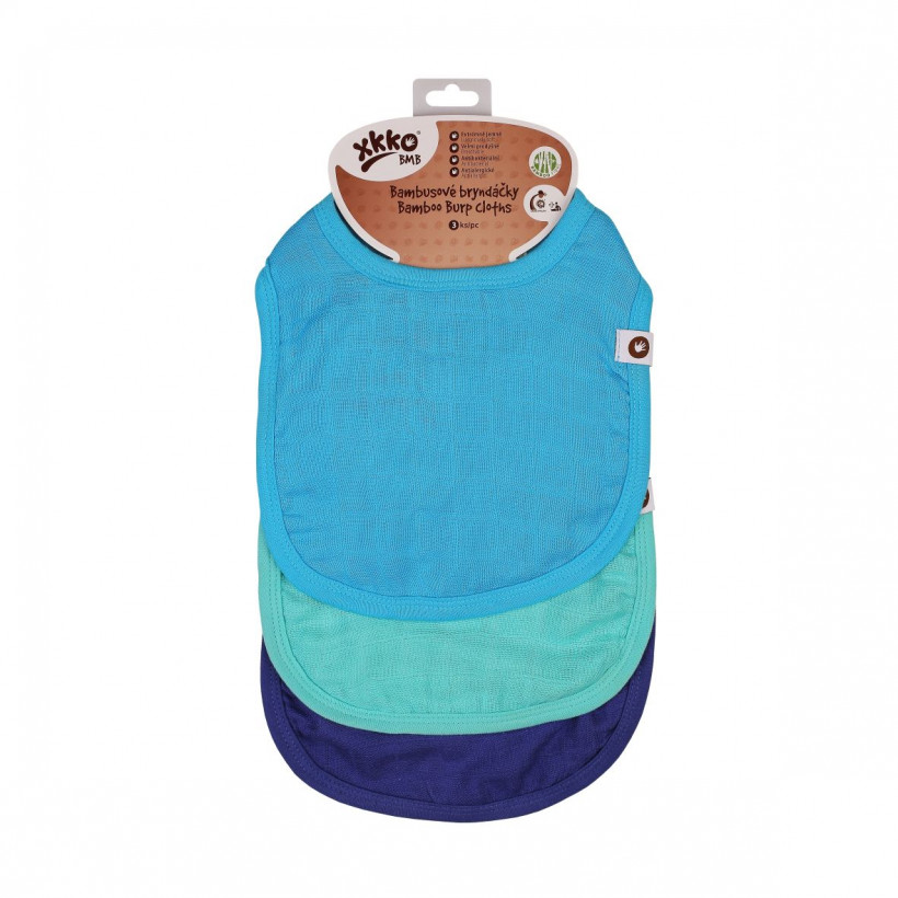 XKKO BMB Kinderlätzchen - Ocean MIX 5x3er Pack (GH Packung)
