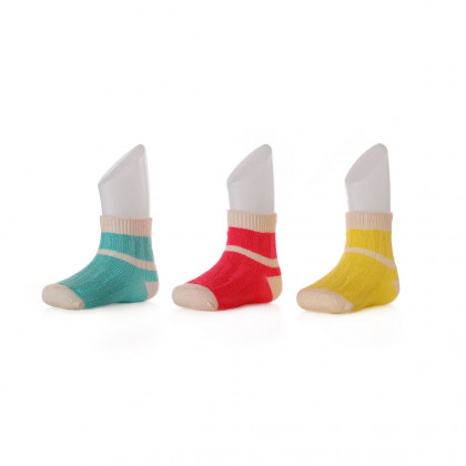Bambussöckchen XKKO BMB - Stripes For Girls II.Qualität