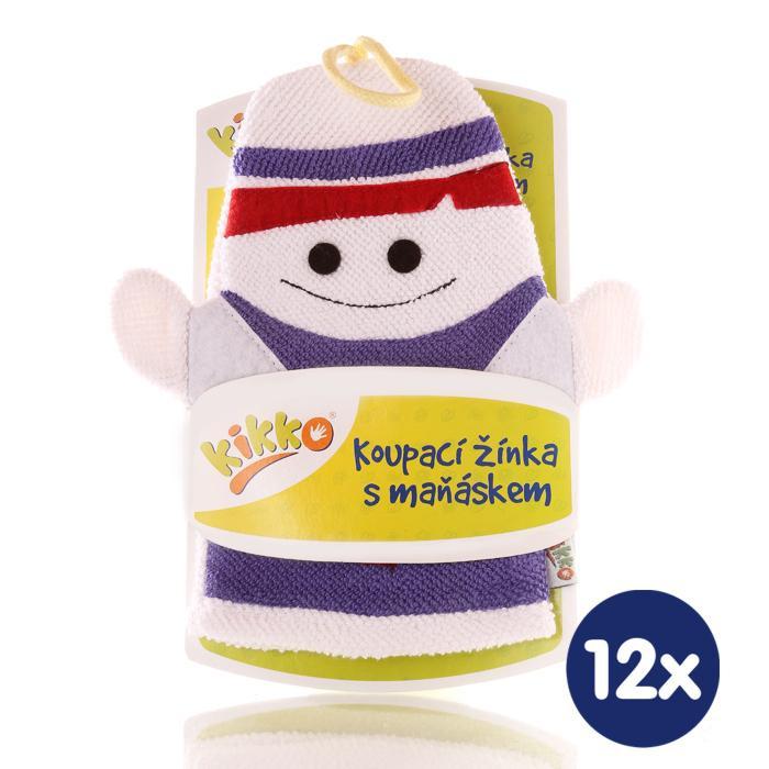 XKKO Waschlappemit Handpuppe (BA) - Ghost 12x1St. (GH Packung)