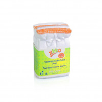 XKKO Classic Faltwindeln (4/8/4) - Infant White 24x6er Pack (GH Packung)