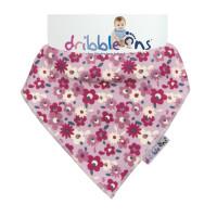Dribble Ons Designer - Floral Ditsy