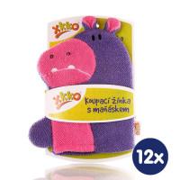 XKKO Waschlappemit Handpuppe (BA) - Hippo 12x1St. (GH Packung)