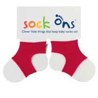 Sock Ons Sockenhalter Bright - Red 5x1 Paar (GH Packung)
