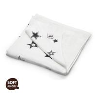 XKKO BMB Bambusdecke 130x70 - Silver Stars 5x1St. (GH Packung)