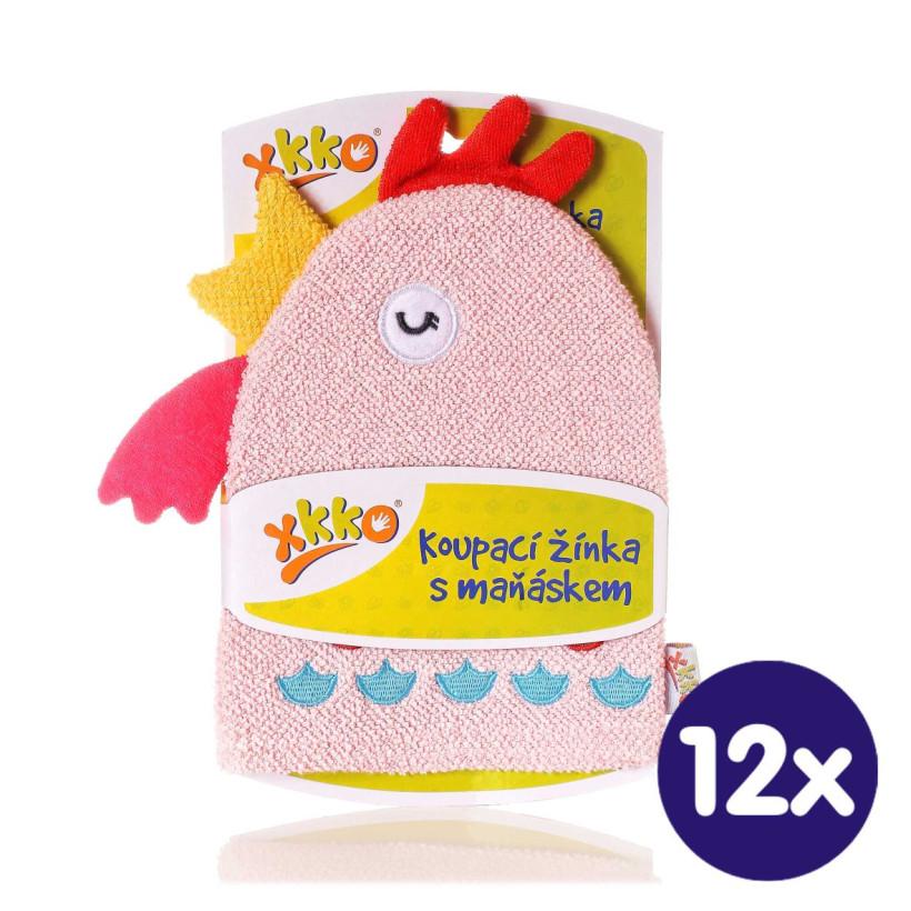 XKKO Waschlappemit Handpuppe (BA) - Hen 12x1St. (GH Packung)